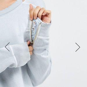 n:PHILANTHROPY Tops - N:Philanthropy Zipper sweatshirt